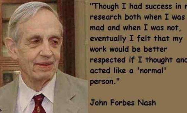 John Nash - Schizophrenia