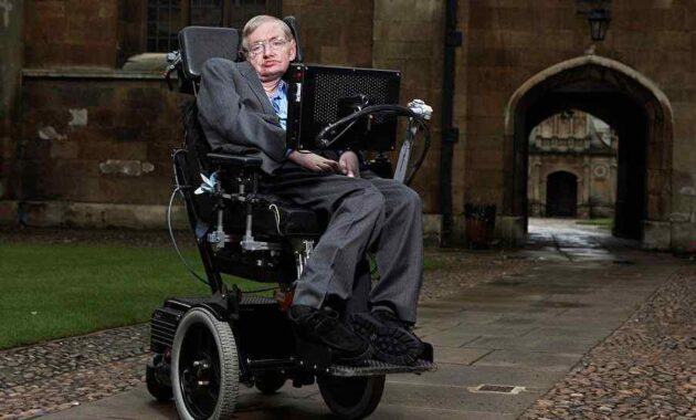 Stephen Hawkings - Penyakit Saraf Neuron (ALS)